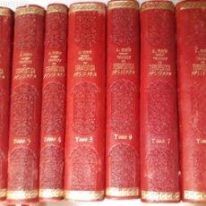 Libros de segunda mano: MEDICINA . TRATADO DE TERAPÉUTICA APLICADA ALBERTO ROBINSON. ESPASA FALTA UN TOMO. Lote 128035274