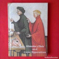Libros de segunda mano: ALIMENTOS Y DIETA EN EL CORPUS HIPPOCRATICUM. RUTH FRAILE. NOVARTIS 2002. DESPLEGABLES. Lote 128097931
