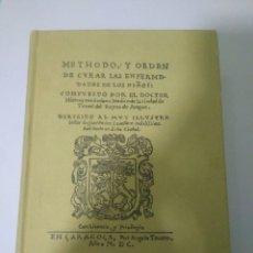 Libros de segunda mano: METODO Y ORDEN CURA ENFERMEDADES DE NIÑOS.GERONIMO SORIANO.ECERCA AUTOR SARABIA PARDO 1971. Lote 128293300