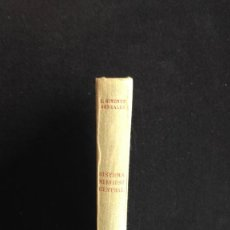 Libros de segunda mano: SISTEMA NERVIOSO CENTRAL - JIMÉNEZ GONZÁLEZ. LUIS - NUMERADO Y FIRMADO - 1953. Lote 128811987