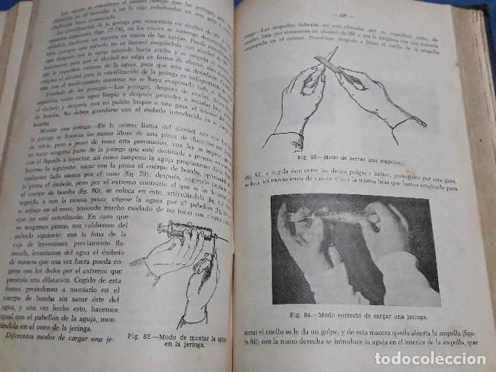Libros de segunda mano: ANTIGUO LIBRO MANUAL DEL PRACTICANTE PRIMER CURSO 1957 - Foto 7 - 128822863
