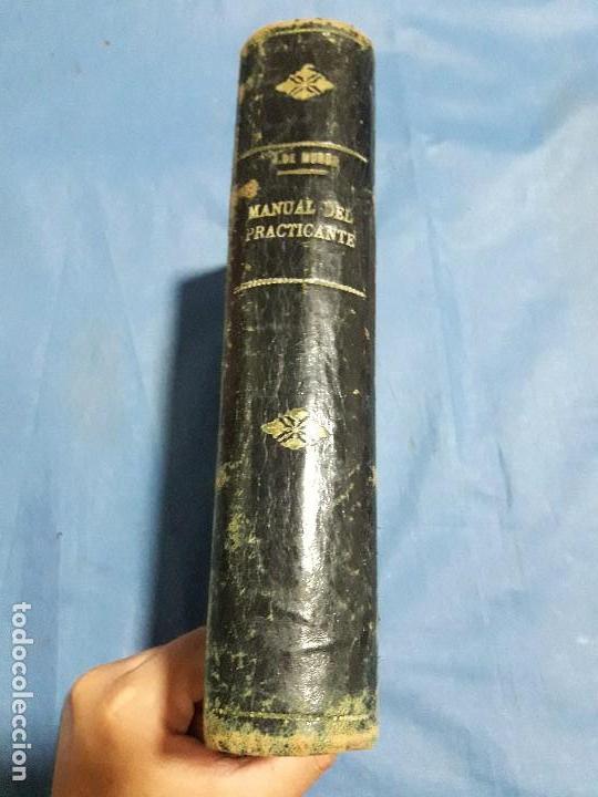ANTIGUO LIBRO MANUAL DEL PRACTICANTE PRIMER CURSO 1957 (Libros de Segunda Mano - Ciencias, Manuales y Oficios - Medicina, Farmacia y Salud)