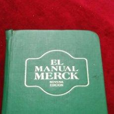 Libros de segunda mano: EL MANUAL MERCK.. Lote 130195856
