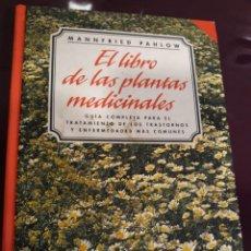 Livres d'occasion: MANNFRIED PAHLOW. EL LIBRO DE LAS PLANTAS MEDICINALES.. Lote 130356450