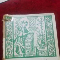 Libros de segunda mano: ESTUDIO HISTORICO DE LA MEDICINA (1961). Lote 130503375