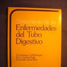 Libros de segunda mano: VVAA: - TRATAMIENTO DE LAS ENFERMEDADES DEL TUBO DIGESTIVO - (BARCELONA, 1980) (MEDICINA). Lote 130590898