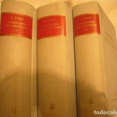 Libros de segunda mano: ERNST JULIUS GURLT: - GESCHICHTE DER CHIRURGIE UND IHRER AUSÜBUNG - (3 VOL) (HILDESHEIM, 1964). Lote 130630130