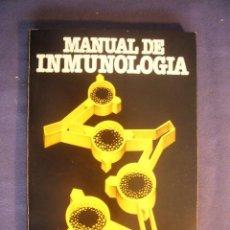 Libros de segunda mano: D.M. WEIR: - MANUAL DE INMUNOLOGIA - (BARCELONA, 1979) (MEDICINA). Lote 130691919