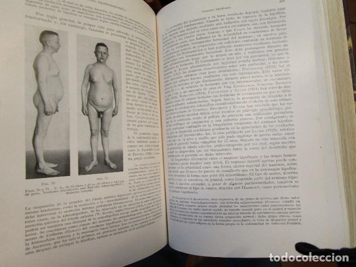 Libros de segunda mano: TRATADO DE MEDICINA INTERNA - STAEHELIN BERGMANN VV.AA - EDI LABOR 1944/56 - 9 TOMOS + INFO Y FOTOS. - Foto 5 - 130864428