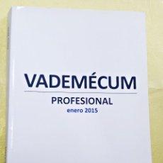 Libros de segunda mano: LIBRO VADEMECUM PROFESIONAL ENERO 2015.. Lote 130930084