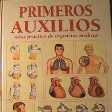 Libros de segunda mano: ATLAS PRÁCTICO DE URGENCIAS MÉDICAS DR SANTIAGO ROSALES PRIMEROS AUXILIOS SALUD Y PREVENCIÓN,(3 TMS). Lote 130965080