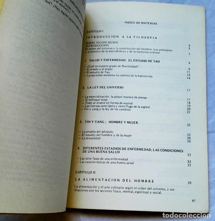 Libros de segunda mano: Introducción A La Filosofía Y Medicina Oriental, Estudios De Macrobiótica Nº1; Michio Kushi - 1980 - Foto 6 - 131105676