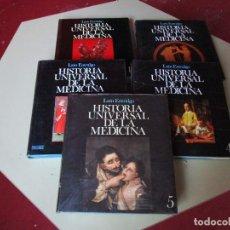Libros de segunda mano: P. LAÍN ENTRALGO - HISTORIA UNIVERSAL DE LA MEDICINA, SALVAT, 1974 - DISPONIBLES TOMOS I II III IV V. Lote 131134132
