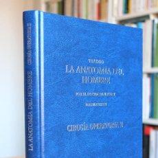 Libros de segunda mano: DOCTOR BOURGERY - TRATADO DE LA ANATOMÍA DEL HOMBRE. CIRUGÍA OPERATORIA II. FACSÍMIL 1831. Lote 131150312