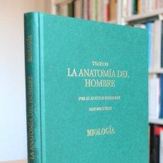 Libros de segunda mano: DOCTOR BOURGERY - TRATADO DE LA ANATOMÍA DEL HOMBRE. MIOLOGÍA. FACSÍMIL 1831. Lote 131150708