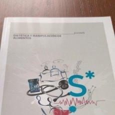 Libros de segunda mano - Dietética y manipulación de alimentos. Manual editorial Vértice - 131482778