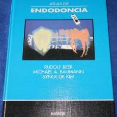 Libros de segunda mano: ATLAS DE ENDODONCIA - RUDOLF BEER - MASSON - SALVAT (1998). Lote 131644366