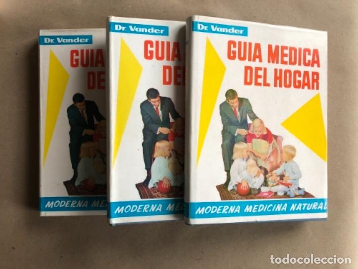 GUÍA MÉDICA DEL HOGAR. DR. VANDER. MODERNA MEDICINA NATURAL. 3 TOMOS. TAPA DURA CON SOBRECUBIERTA. (Libros de Segunda Mano - Ciencias, Manuales y Oficios - Medicina, Farmacia y Salud)