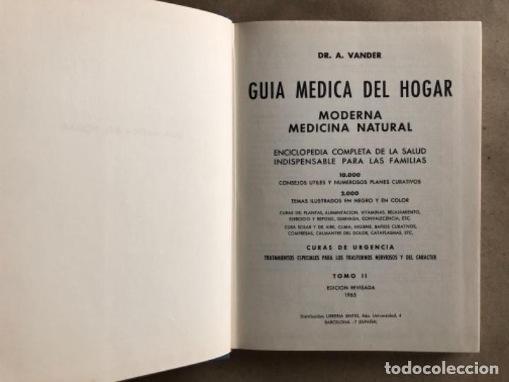 Libros de segunda mano: GUÍA MÉDICA DEL HOGAR. Dr. VANDER. MODERNA MEDICINA NATURAL. 3 TOMOS. TAPA DURA CON SOBRECUBIERTA. - Foto 7 - 178126755