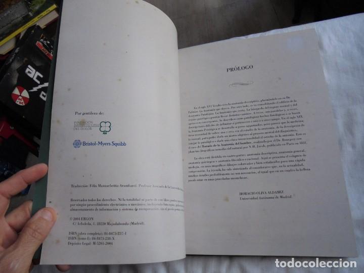 Libros de segunda mano: TRATADO LA ANATOMIA DEL HOMBRE MIOLOGIA.POR EL DOCTOR BOURGERY.ANATOMIA DESCRIPTIVA Y FISIOLOGIA.183 - Foto 4 - 132029082
