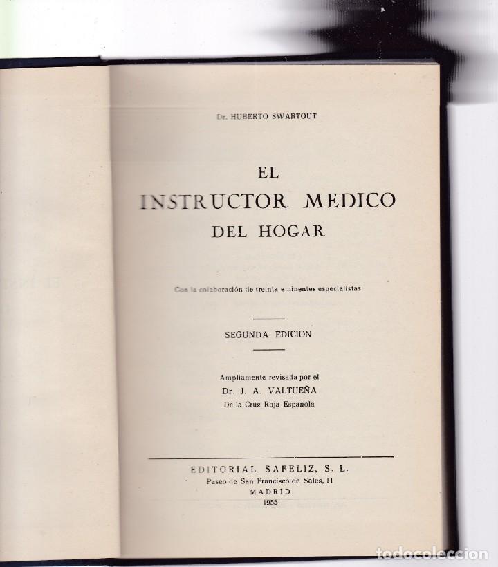 el instructor medico del hogar - h. swartout - - Comprar