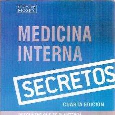Libros de segunda mano: MEDICINA INTERNA SECRETOS ANTHONY J ZOLLO JR CUARTA EDICION 2005. Lote 207138476