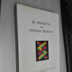 Libros de segunda mano: EL PROYECTO DEL GENOMA HUMANO / MONOGRAFES DE CONSELL VALENCIA DE CULTURA 1990. Lote 132549770