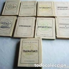 Libros de segunda mano: BIBLIOTECA DEL AUXILIAR MEDICO. 9 TOMOS.. Lote 132937618