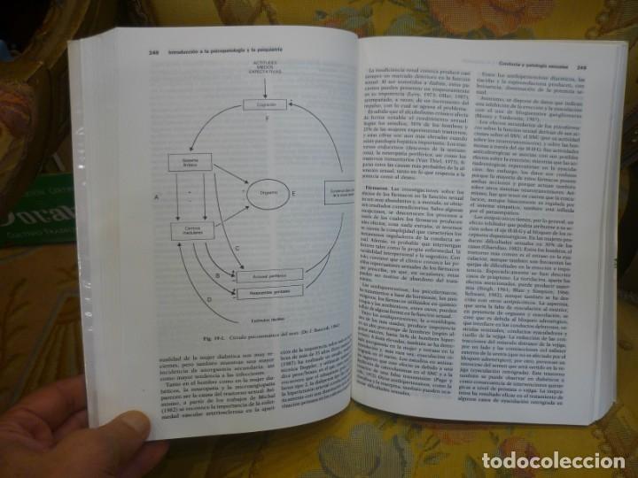 Libros de segunda mano: INTRODUCCIÓN A LA PSICOPATOLOGÍA Y LA PSIQUIATRÍA, DE J. VALLEJO RUILOBA. - Foto 6 - 133246090