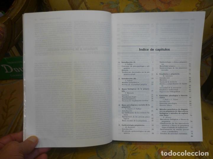 Libros de segunda mano: INTRODUCCIÓN A LA PSICOPATOLOGÍA Y LA PSIQUIATRÍA, DE J. VALLEJO RUILOBA. - Foto 9 - 133246090