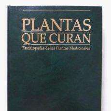 Libros de segunda mano: PLANTAS QUE CURAN - ENCICLOPEDIA DE PLANTAS MEDICINALES VOLUMEN 2 / PLANETA DEAGOSTINI 1997. Lote 133635618