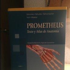 Libros de segunda mano: PROMETHEUS: TEXTO Y ATLAS DE ANATOMÍA (TOMO 1) 1º EDICIÓN. Lote 133894074