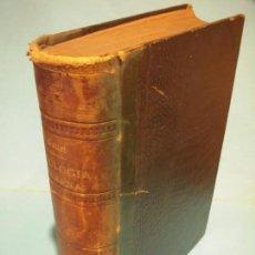 Libros de segunda mano: MANUAL DE PATOLOGIA EXTERNA (TOMO I) - E. FORGUE - JOSE ESPASA, EDITOR, CA.1900 (BUEN ESTADO). Lote 134034878