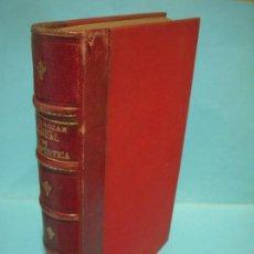 Libros de segunda mano: MANUAL DE TERAPEUTICA (TOMO II) - X. ARNOZAN - JOSE ESPASA, EDITOR, CA.1900 (BUEN ESTADO). Lote 134035834