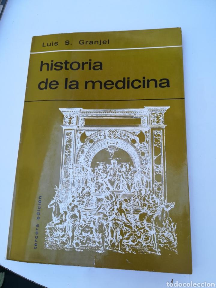 HISTORIA DE LA MEDICINA. LUÍS S. GRANEL. RELATO HISTÓRICO - MÉDICO DE CADA ETAPA. 281 PÁGINAS. (Libros de Segunda Mano - Ciencias, Manuales y Oficios - Medicina, Farmacia y Salud)