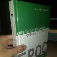 Libros de segunda mano: ENFERMEDAD PULMONAR OBSTRUCTIVA CRONICA. EPOC. VVAA. DIRECTOR: JOSÉ CASTILLO GÓMEZ. Lote 134949474