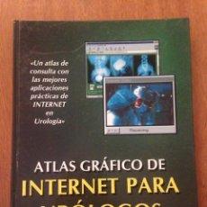 Libros de segunda mano: ATLAS GRÁFICO PARA DE INTERNET PARA URÓLOGOS. Lote 135161247