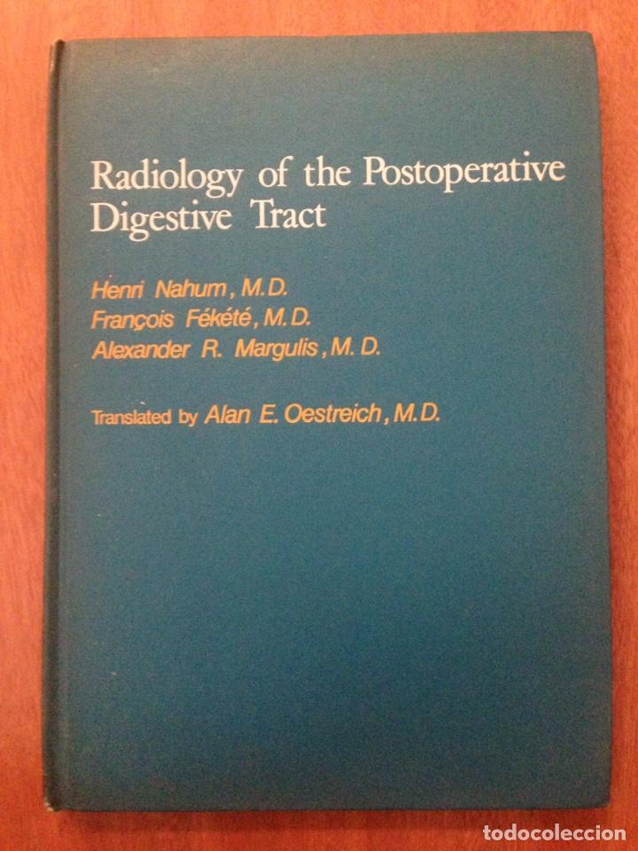 RADIOLOGY OF THE POSPERATIVE DIGESTIVE (Libros de Segunda Mano - Ciencias, Manuales y Oficios - Medicina, Farmacia y Salud)
