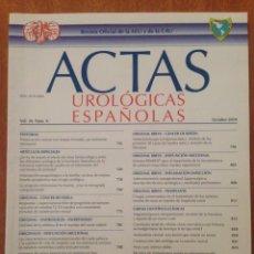 Libros de segunda mano: ACTAS UROLÓGICAS ESPAÑOLAS. Lote 135197626