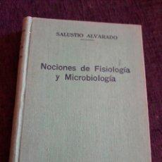 Libros de segunda mano: NOCIONES DE FISIOLOGÍA Y MICROBIOLOGÍA. Lote 135321058