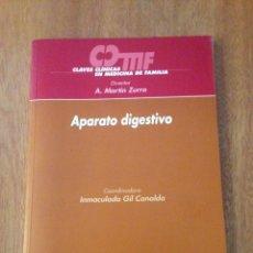 Libros de segunda mano: APARATO DIGESTIVO. Lote 135322566