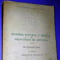 Libros de segunda mano: MEMORIAS DE HISTORIA NATURAL Y MÉDICA DEL PRINCIPADO DE ASTURIAS.. Lote 135516094