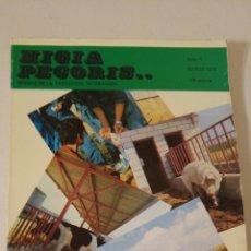 Libros de segunda mano: 1978 HIGÍA PECORIS REVISTA DE LA PROFESIÓN VETERINARIA. MARZO. Lote 132244459