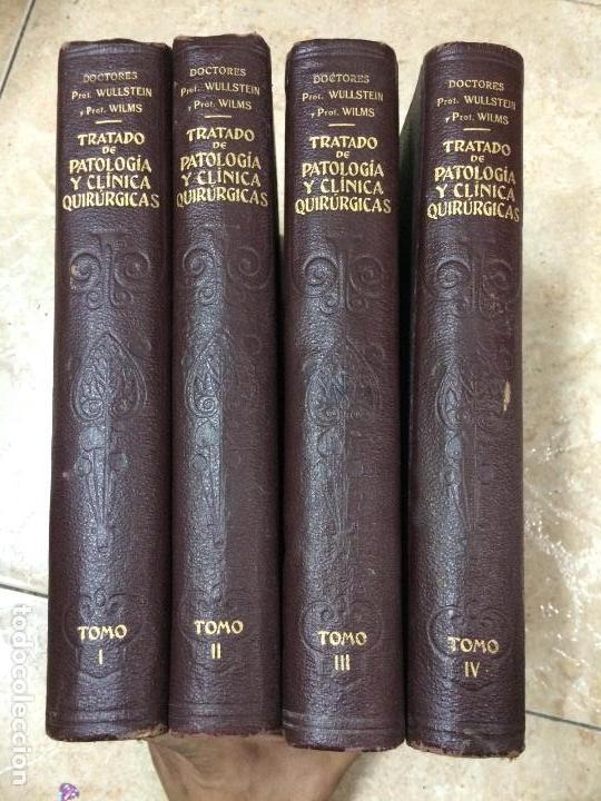 Libros de segunda mano: TRATADO DE PATOLOGÍA Y CLÍNICA QUIRÚRGICAS. Volúmenes I-II-III-IV: Obra completa. WULLSTEIN y WILMS - Foto 14 - 132341254