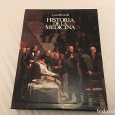 Libros de segunda mano: HISTORIA DE LA MEDICINA LYONS / PETRUCELLI COMPLETO CON 19 EJEMPLARES EDICIONES DOYMA ESTUCHE. Lote 136430874