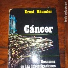 Libros de segunda mano: CÁNCER - ERNST BÄUMLER - EDITORIAL AGUILAR 1970 .. Lote 136646606