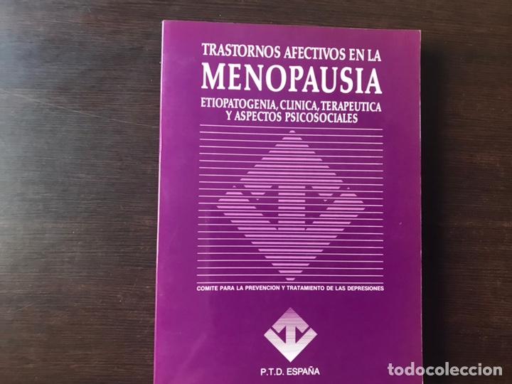 TRASTORNOS AFECTIVOS EN LA MENOPAUSIA. COMO NUEVO (Libros de Segunda Mano - Ciencias, Manuales y Oficios - Medicina, Farmacia y Salud)