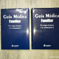 Libros de segunda mano: GUÍA MÉDICA FAMILIAR DE AUPPER - 2 TOMOS.. Lote 137246918