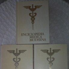 Libros de segunda mano: ENCICLOPEDIA MEDICA MODERNA (TRES TOMOS). Lote 137323970