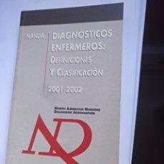 Libros de segunda mano: DIAGNOSTICOS ENFERMEROS CLASIFICACIÓN NANDA. Lote 137603593